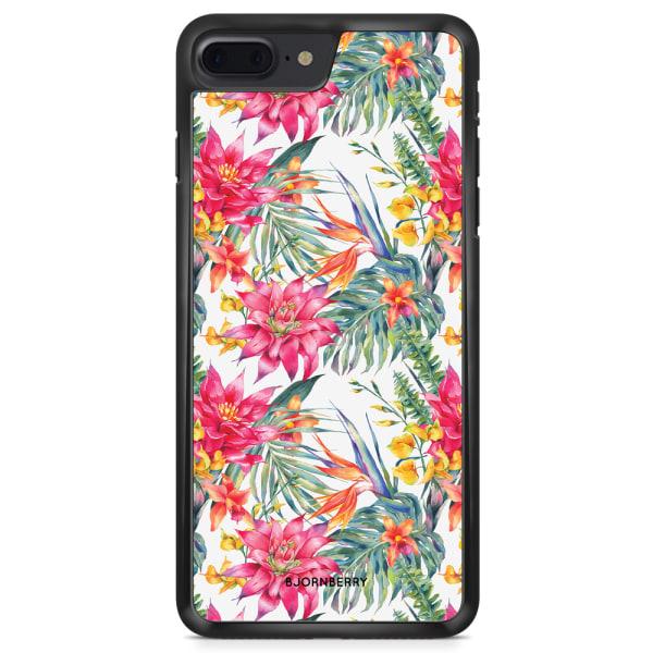 Bjornberry Skal iPhone 8 Plus - Exotiska Blommor