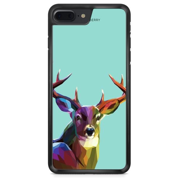 Bjornberry Skal iPhone 8 Plus - Färgglad Hjort