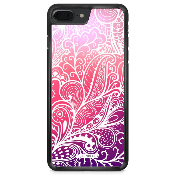 Bjornberry Skal iPhone 8 Plus - Färgglada Blommor