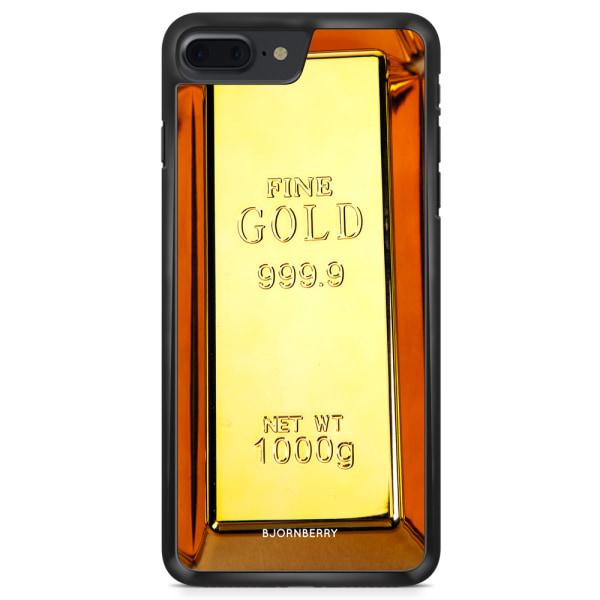 Bjornberry Skal iPhone 8 Plus - Guldtacka
