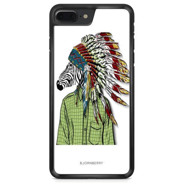 Bjornberry Skal iPhone 8 Plus - Hipster Zebra