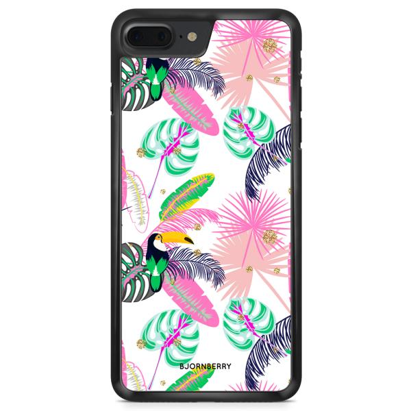 Bjornberry Skal iPhone 8 Plus - Tropical Pattern