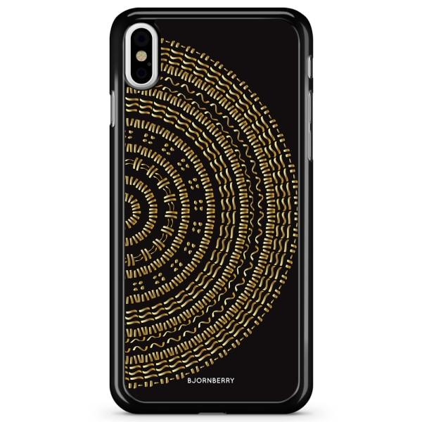 Bjornberry Skal iPhone X / XS - Mandala Guld/Svart