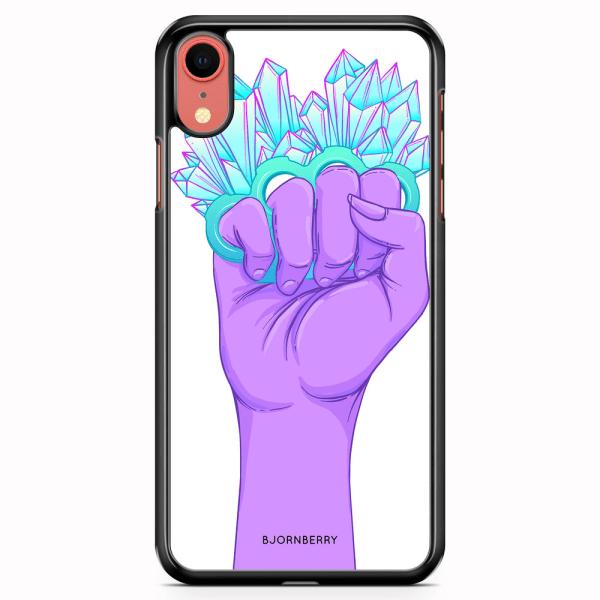 Bjornberry Skal iPhone XR - Kristaller & Hand