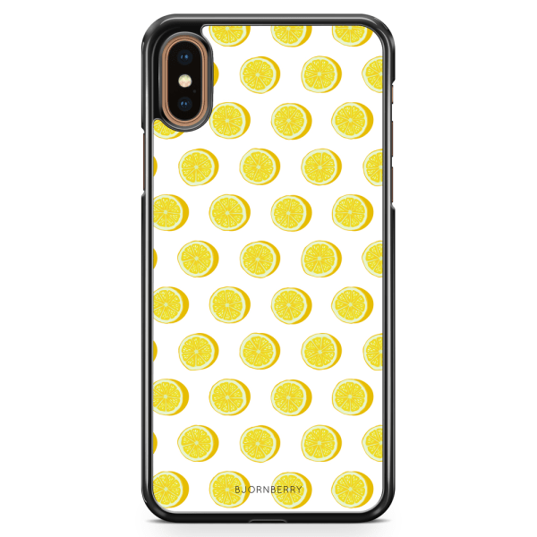 Bjornberry Skal iPhone XS Max - Citroner Vit