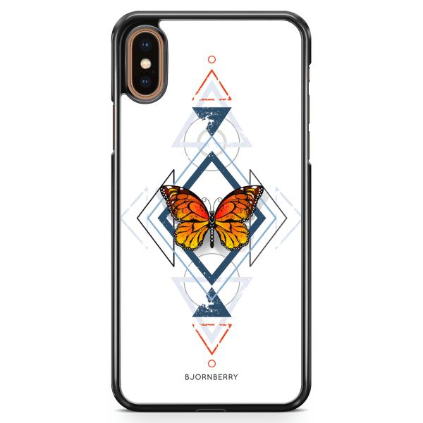 Bjornberry Skal iPhone XS Max - Fjäril