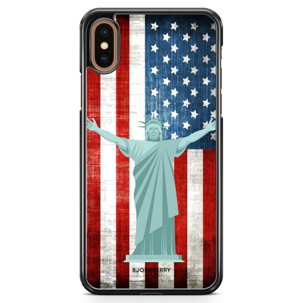 Bjornberry Skal iPhone XS Max - Frihetsgudinnan