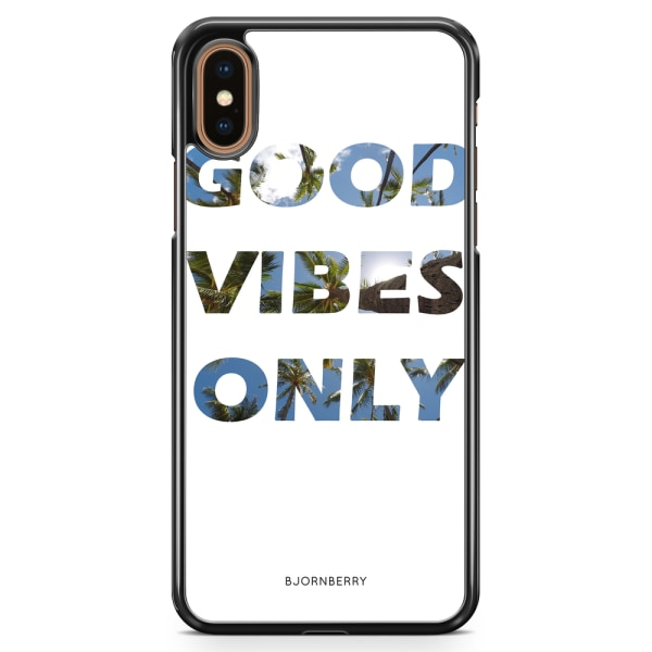 Bjornberry Skal iPhone XS Max - Good Vibes Only