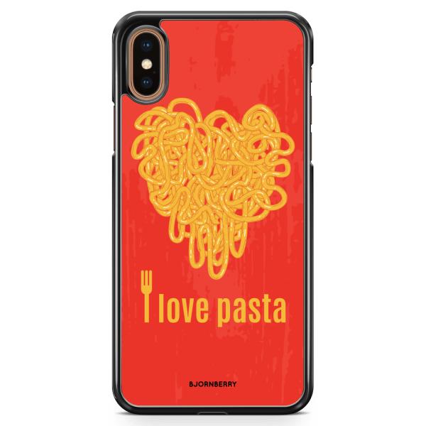 Bjornberry Skal iPhone XS Max - I love pasta