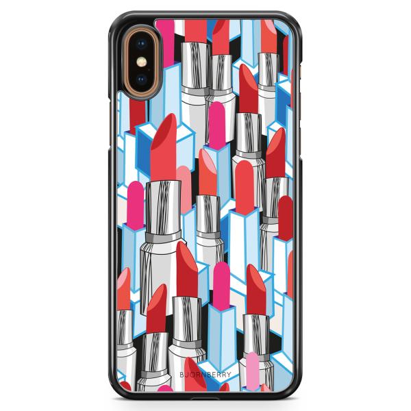 Bjornberry Skal iPhone XS Max - Läppstift