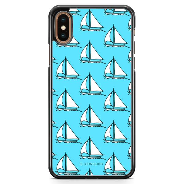Bjornberry Skal iPhone XS Max - Segelbåts Mönster