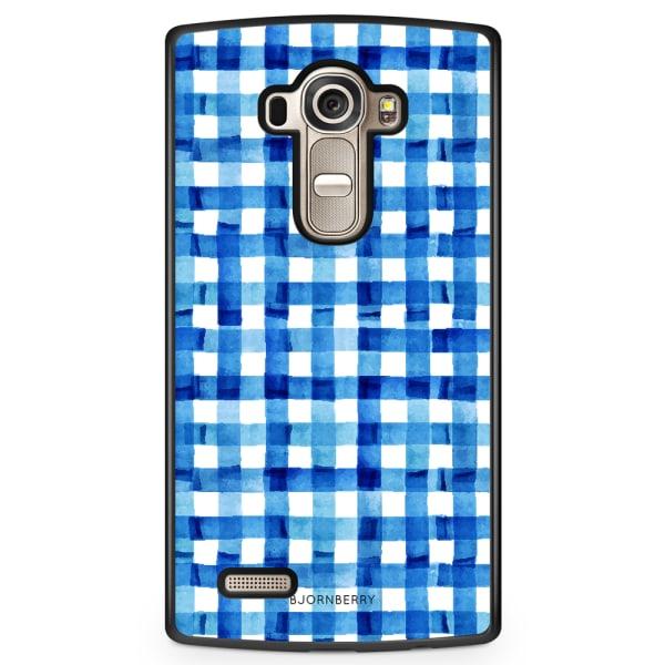 Bjornberry Skal LG G4 - Blå Ränder