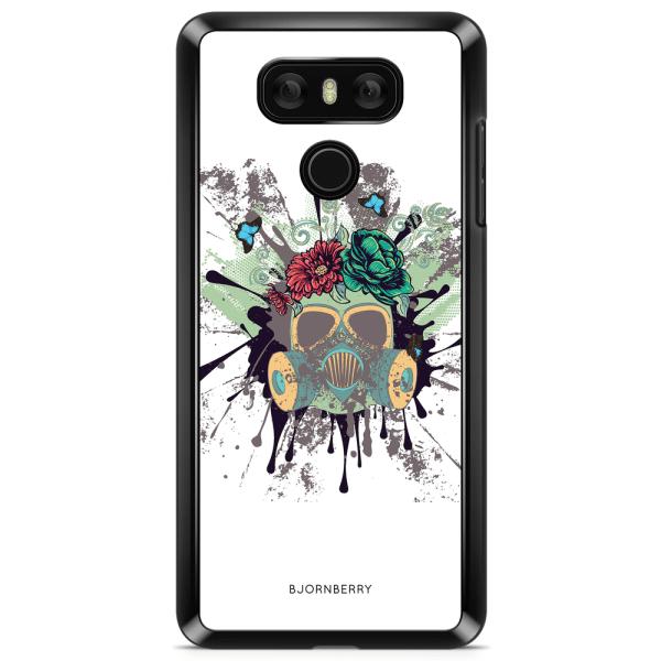Bjornberry Skal LG G6 - Gas Mask Blommor
