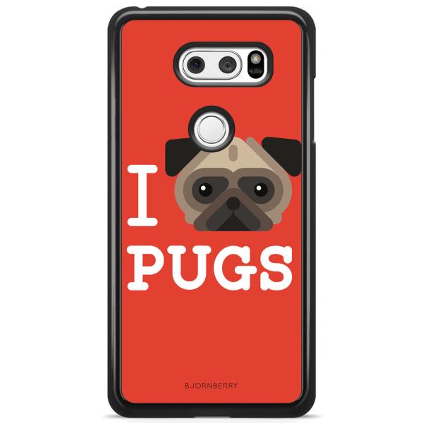 Bjornberry Skal LG V30 - I Love Pugs