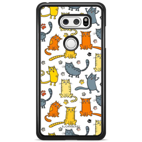 Bjornberry Skal LG V30 - Kattmönster