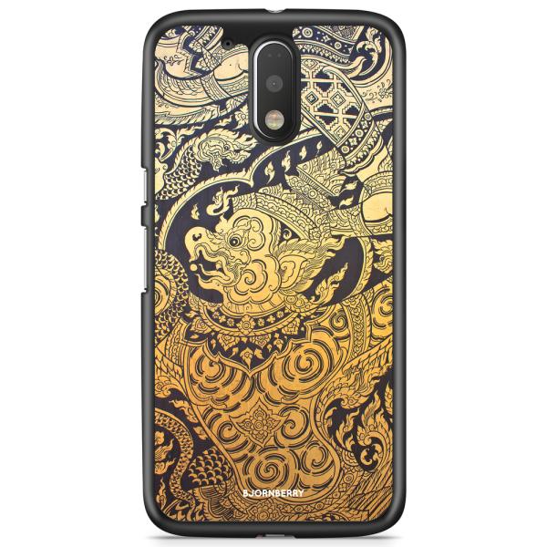 Bjornberry Skal Moto G4/G4 Plus - Gold Thai