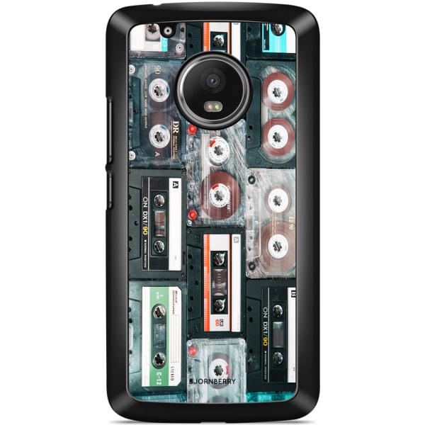 Bjornberry Skal Moto G5 Plus - Kassettband