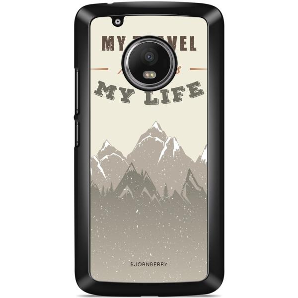 Bjornberry Skal Moto G5 Plus - My Travels, My Life