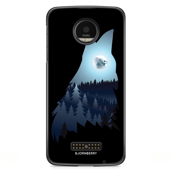 Bjornberry Skal Moto Z2 Play - Forest Wolf