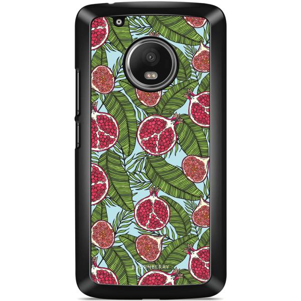 Bjornberry Skal Motorola/Lenovo Moto G5 - Granatäpple