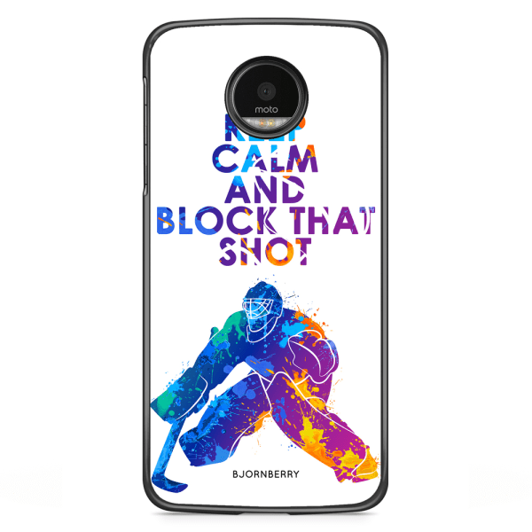 Bjornberry Skal Motorola Moto G5S Plus - Block that shot