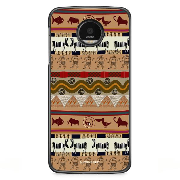 Bjornberry Skal Motorola Moto G5S Plus - Djur Aztek