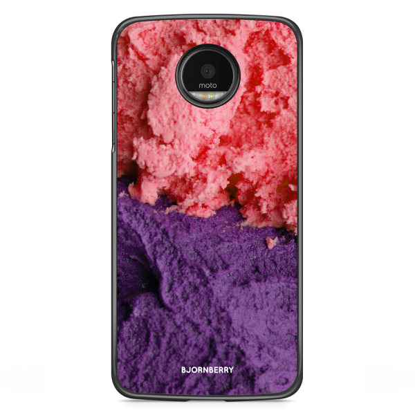Bjornberry Skal Motorola Moto G5S Plus - Glass Rosa/Lila
