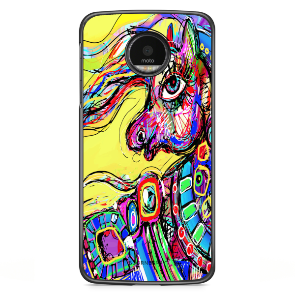 Bjornberry Skal Motorola Moto G5S Plus - Häst