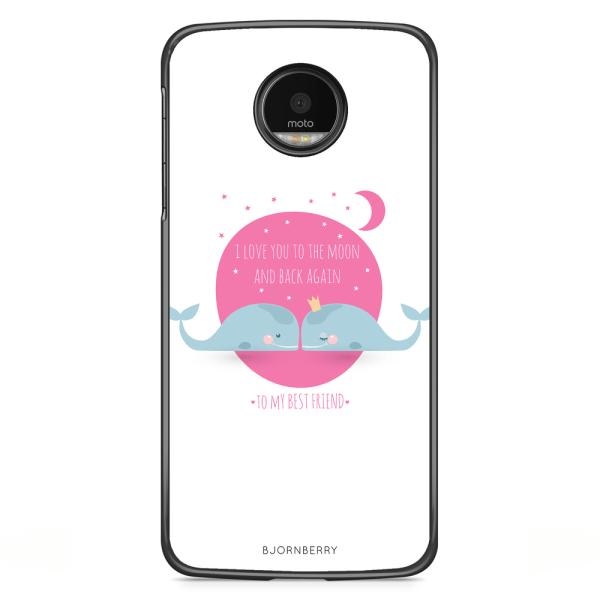 Bjornberry Skal Motorola Moto G5S Plus - Love You To The Moon