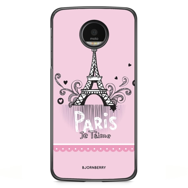 Bjornberry Skal Motorola Moto G5S Plus - Paris je taime