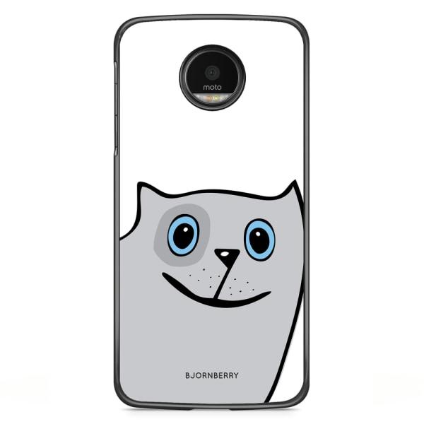 Bjornberry Skal Motorola Moto G5S Plus - Rolig Katt