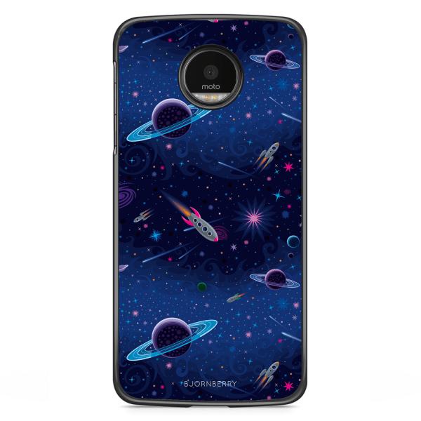 Bjornberry Skal Motorola Moto G5S Plus - Rymden