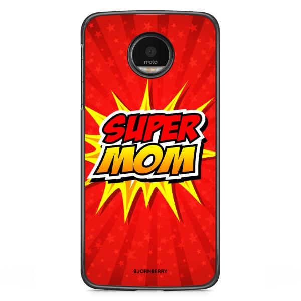 Bjornberry Skal Motorola Moto G5S Plus - Super mom