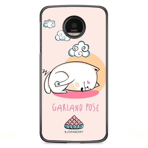 Bjornberry Skal Motorola Moto G5S Plus - Yoga Cat Garland