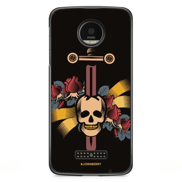 Bjornberry Skal Motorola Moto Z - Dödskalle