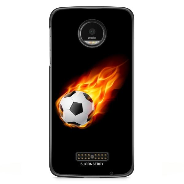 Bjornberry Skal Motorola Moto Z - Fotboll