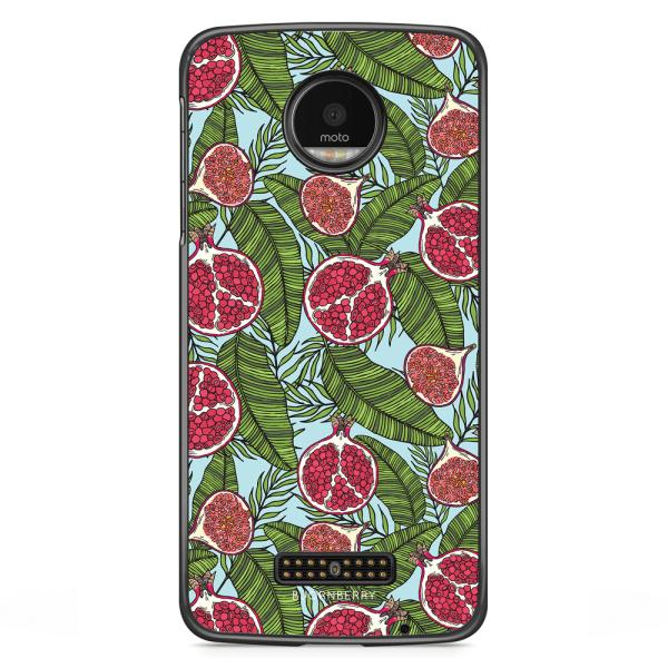 Bjornberry Skal Motorola Moto Z - Granatäpple