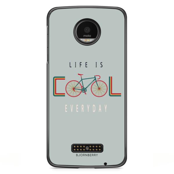 Bjornberry Skal Motorola Moto Z - Life Is Cool