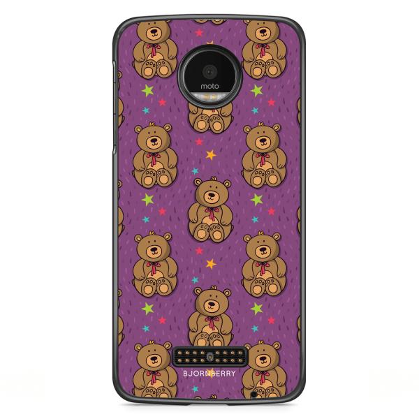 Bjornberry Skal Motorola Moto Z - Teddybjörn