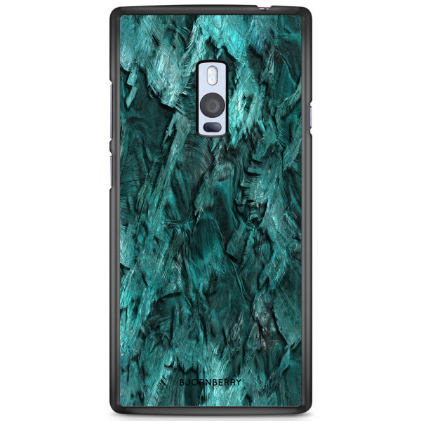 Bjornberry Skal OnePlus 2 - Grön Kristall