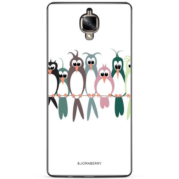 Bjornberry Skal OnePlus 3 / 3T - Fåglar på en lina