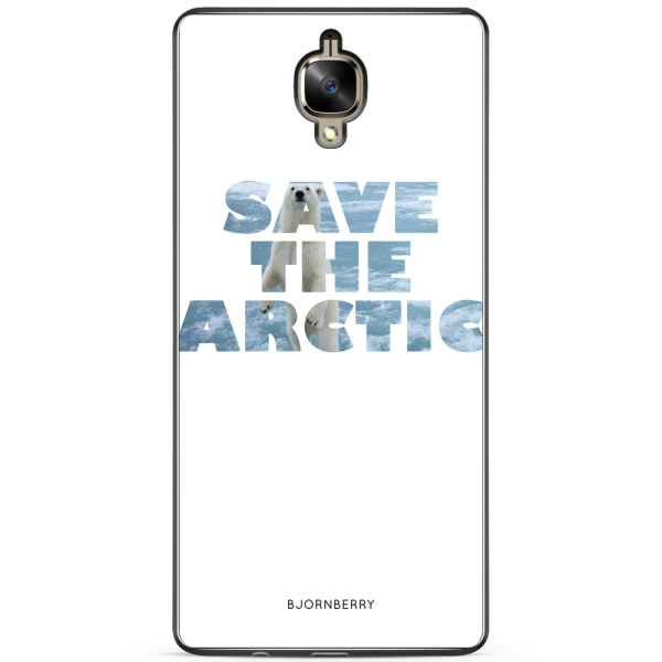 Bjornberry Skal OnePlus 3 / 3T - Isbjörn Save the
