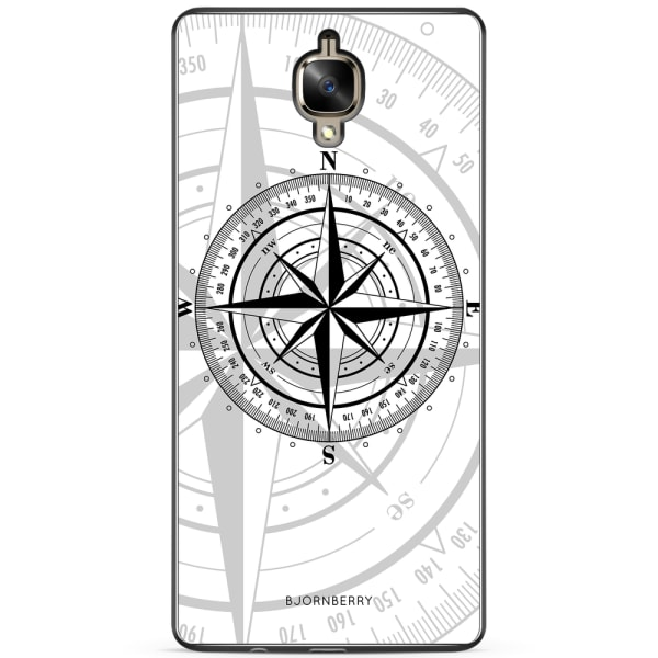 Bjornberry Skal OnePlus 3 / 3T - Kompass Vit