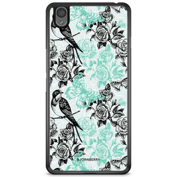 Bjornberry Skal OnePlus X - Fåglar & Rosor