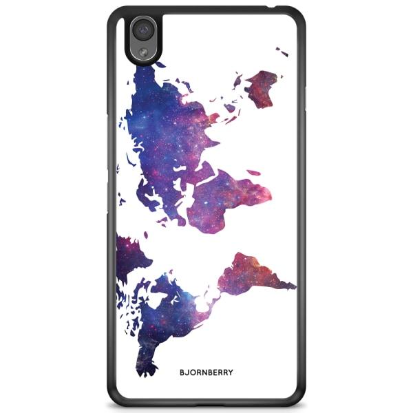 Bjornberry Skal OnePlus X - Världkarta Rymd