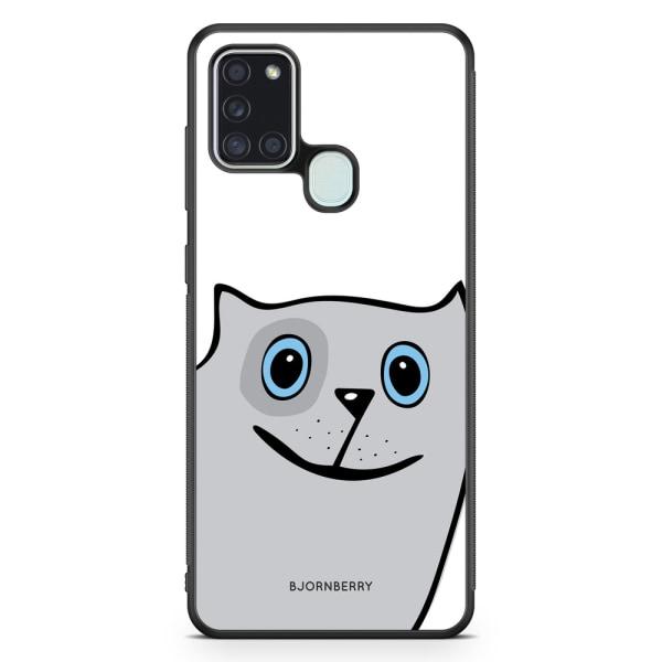 Bjornberry Skal Samsung Galaxy A21s - Rolig Katt