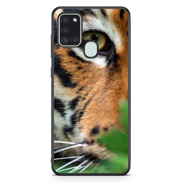 Bjornberry Skal Samsung Galaxy A21s - Tigeröga