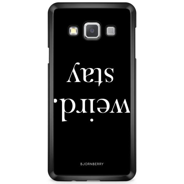 Bjornberry Skal Samsung Galaxy A3 (2015) - STAY WEIRD Vit