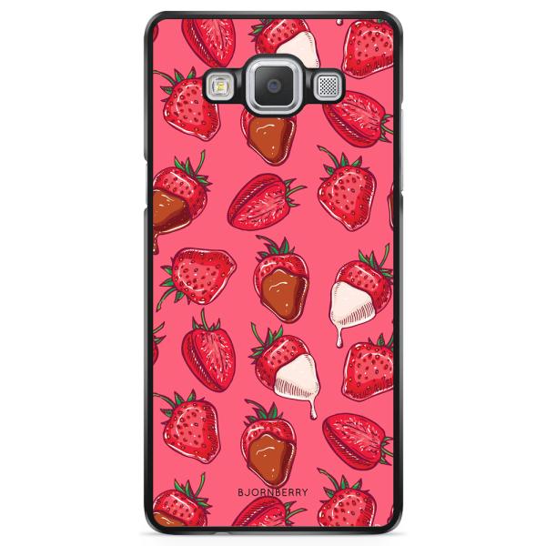 Bjornberry Skal Samsung Galaxy A5 (2015) - Jordgubbschoklad