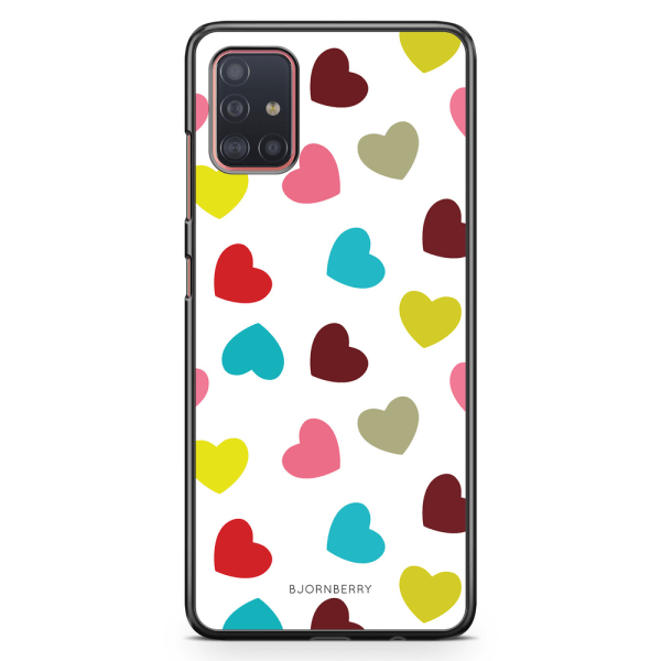 Bjornberry Skal Samsung Galaxy A51 - Hjärtan